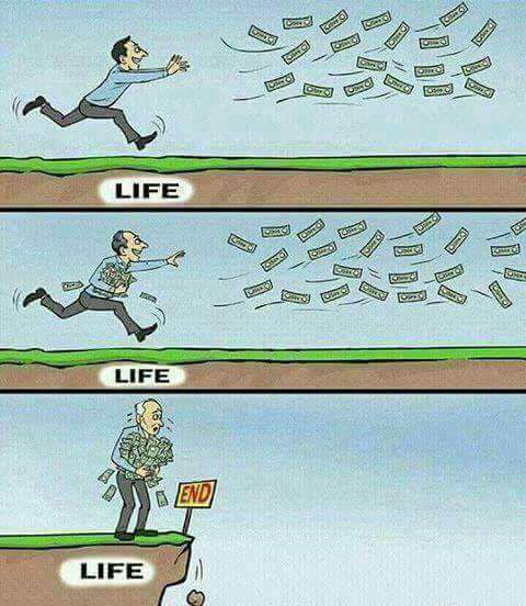 Stop Chasing Money