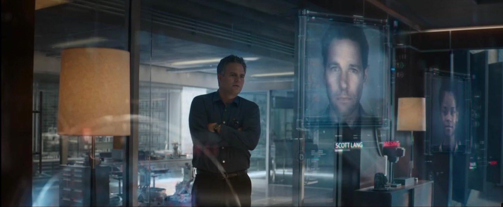 Avengers Endgame Trailer Hulk Bruce Banner