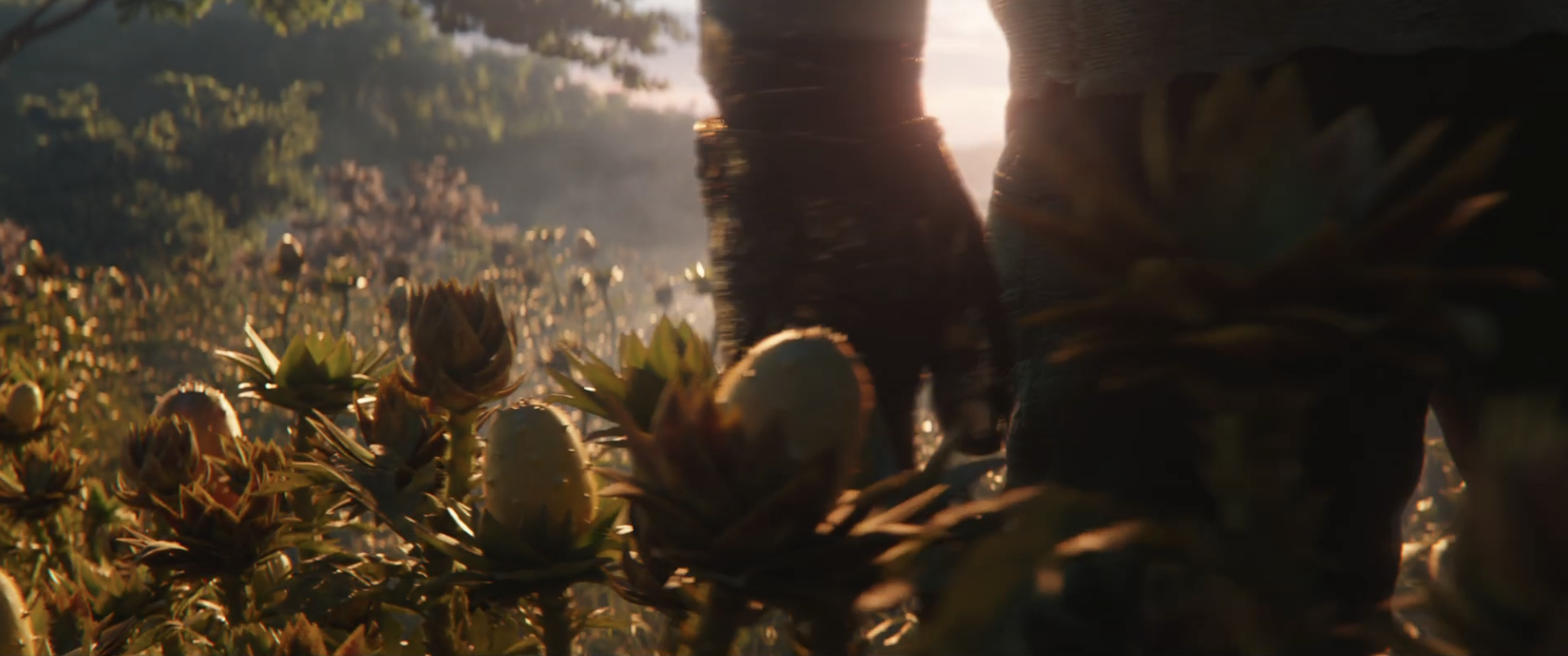 Avengers Endgame Trailer Vegetation