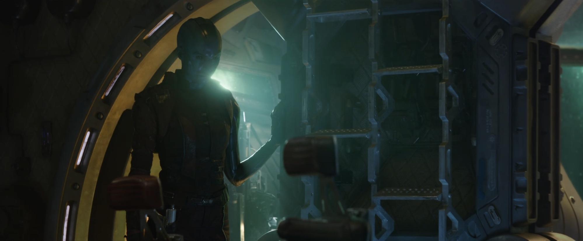 Avengers Endgame Trailer Nebula