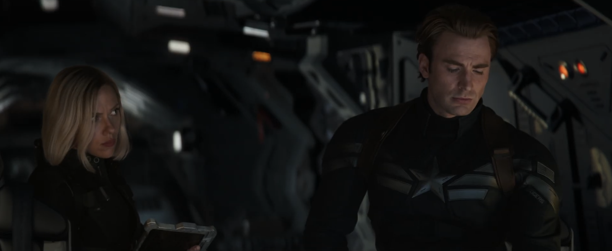 Avengers Endgame Trailer Captain America Black Widow