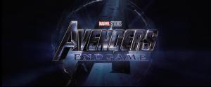 Avengers Endgame Trailer Logo