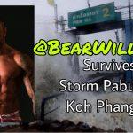 Bear Williams Storm Pabuk Koh Phangan Thailand