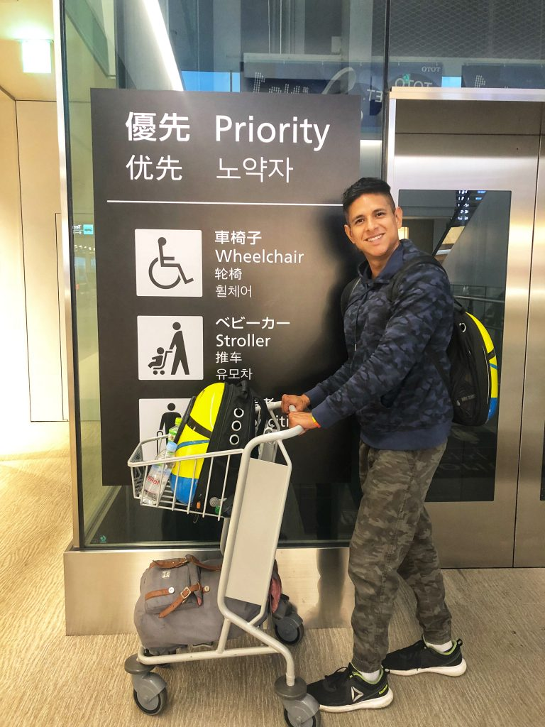 Transiting Japan