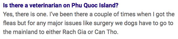 Phu Quoc Vet