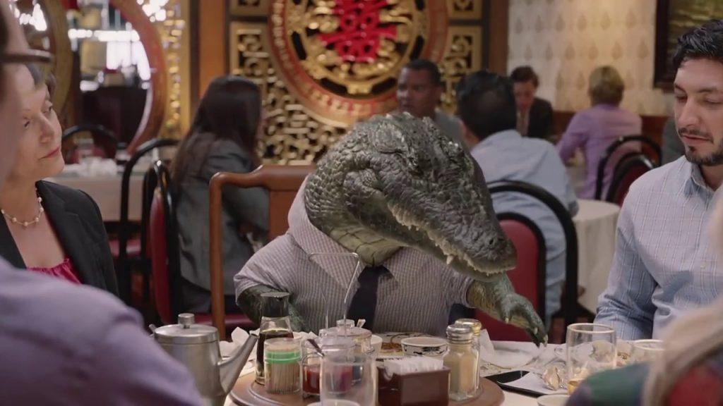 Alligator arms