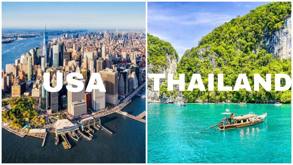 USA vs Thailand