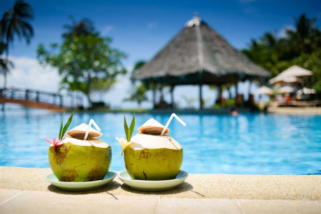 Thailand fresh coconuts