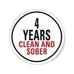 4 Years Sober