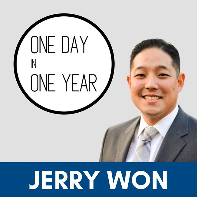 One Day In One Year Podcast Jerry Won