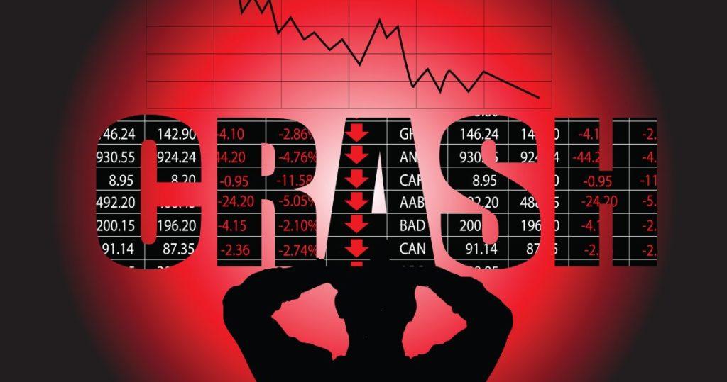 Stock market crash from coronavirus