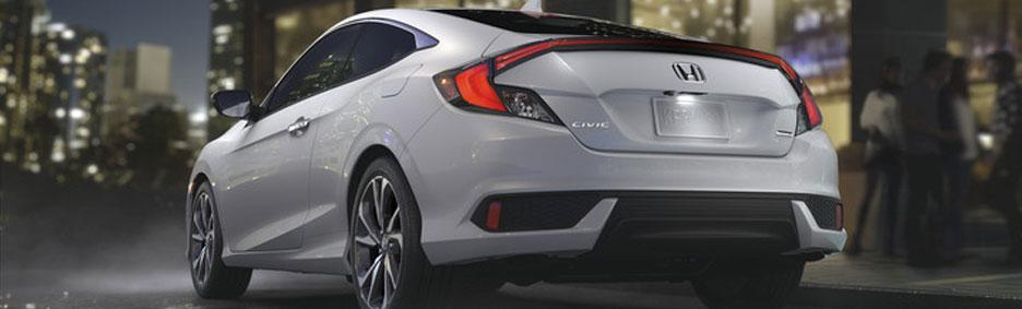 2019 Honda Civic Coupe EX White