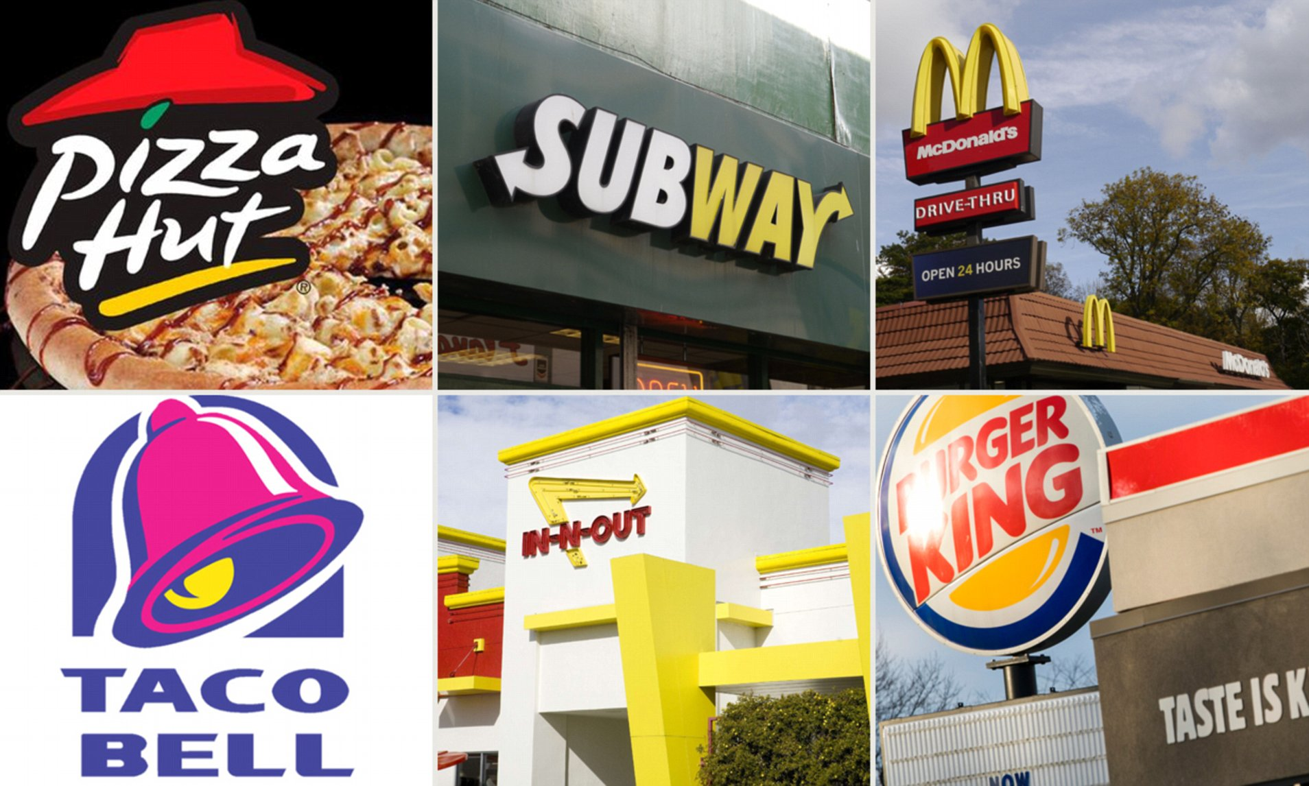 My Top 5 Favorite Fast Food Restaurants In The World