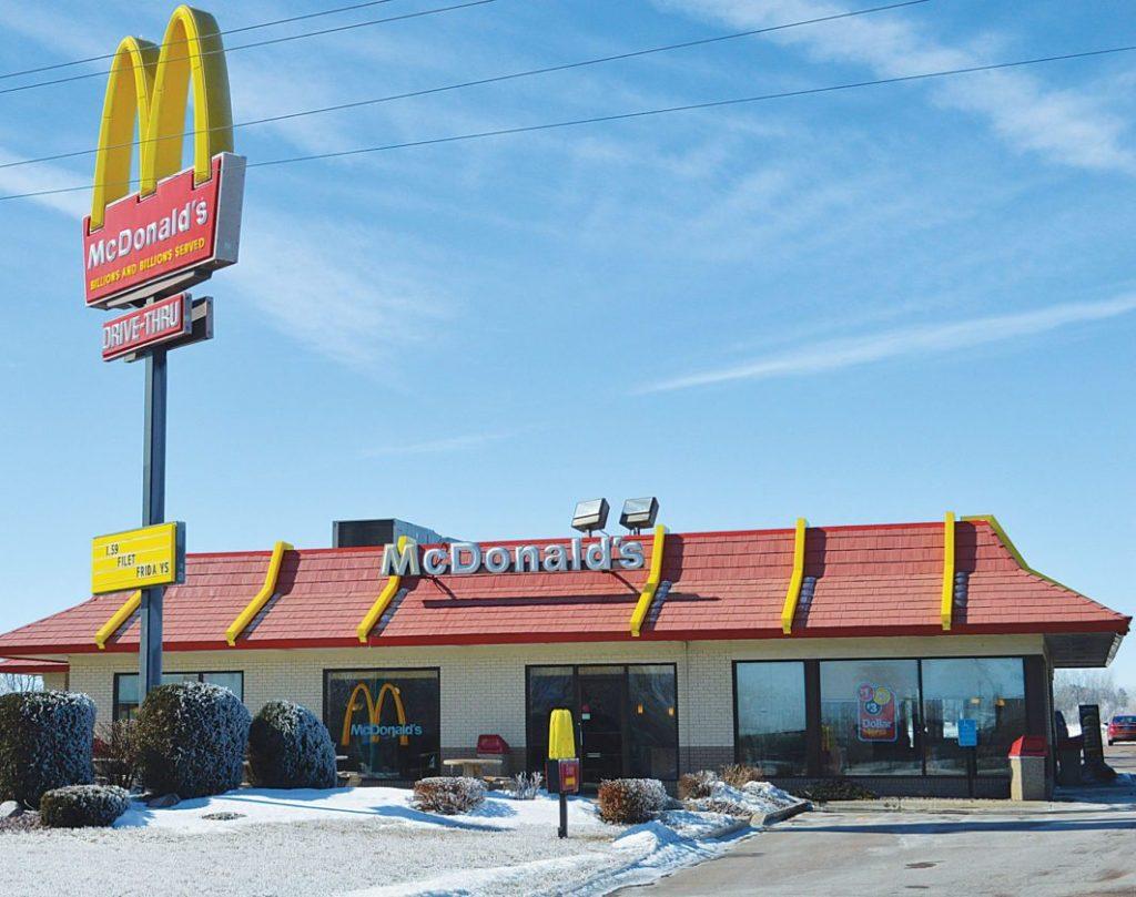 BeFreeMySheeple McDonald's