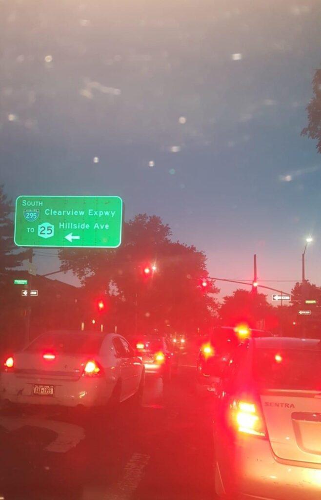 Bayside, Queens Traffic Jam