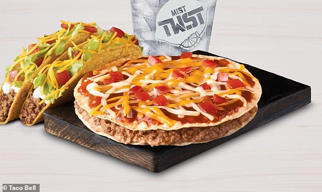 Taco Bell Mexican Pizza