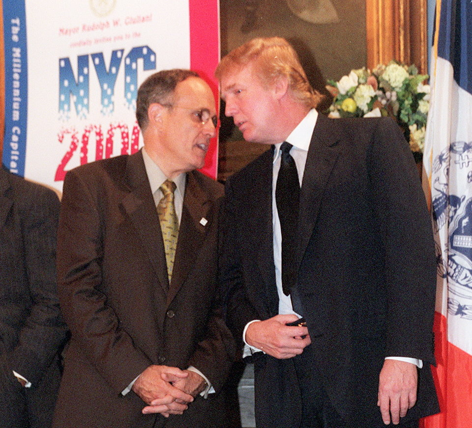 Mayor Giuliani & Trump 1990s