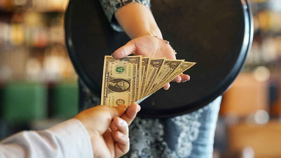 Tipping in USA
