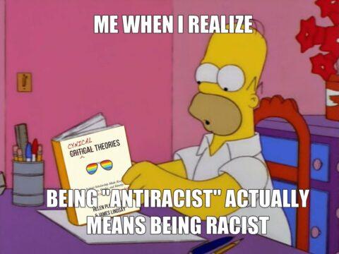 anti-racism is racist