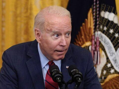 Joe Biden confused